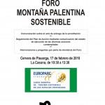 Reunión del Foro Montaña Palentina Sostenible